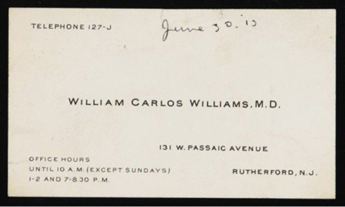 William Carlos William